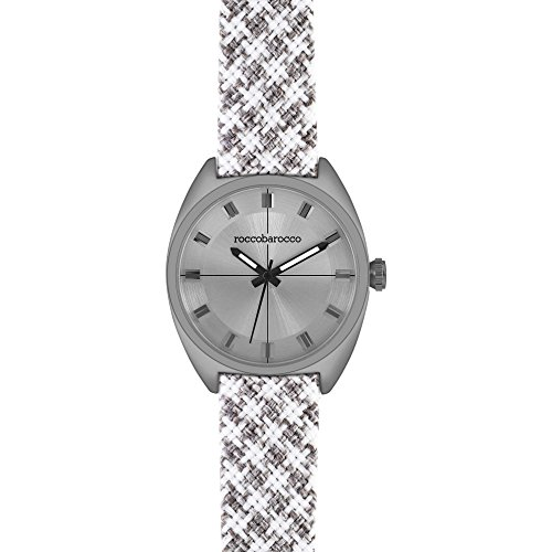 orologio solo tempo unisex RoccoBarocco Pied De Poule trendy cod. RB0085