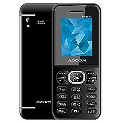Adcom X4 Lovee (1.8 Inch Display, Dual Sim, Black)