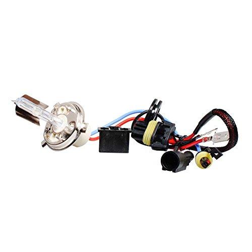 M-Tech ZMPH45 pour lampe hID h4 5000 K, Set de 2