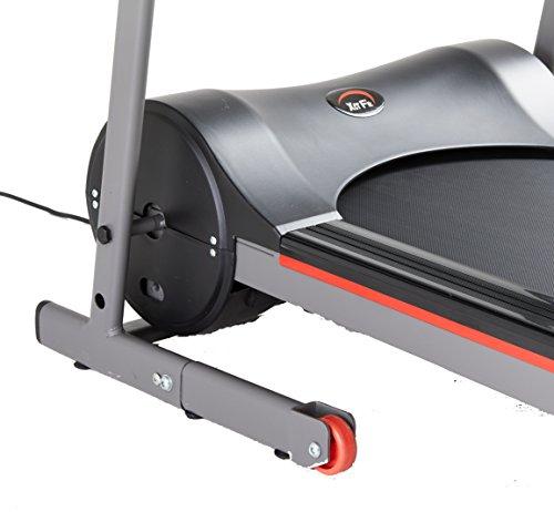 Xerfit-Unisex-Folding-Motorised-Treadmill-BlackRed-Medium