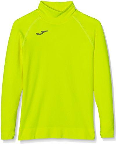 Joma Brama - Camiseta térmica para niños de 12-14 años, color amarillo - Barcellona Manica Lunga Maglia
