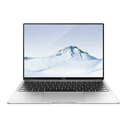"HUAWEI MateBook X Pro - PC Portable - 13.9"" tactile (Core i7-8550U, RAM 8Go, SSD 512Go, NVIDIA GeForce MX150, Windows 10 Home, Clavier Français AZERTY) – Argent"