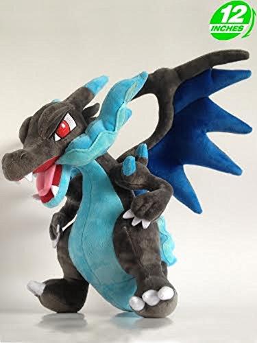 POKEMON - MEGA GLURAK X / CHARIZARD X PLÜSCH 30 cm (Mega-pokemon Plüschtiere)