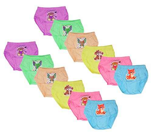 LUXCY Baby Boys' Panties - Pack of 12 (MRB2KIPRJBKIDDO(0-3)12-$P, Multi-Coloured, 0-3 Months)