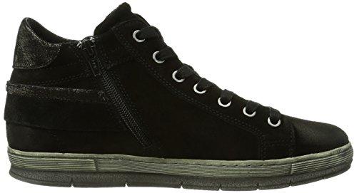 Gabor Shoes - Gabor, Sneaker a collo alto Donna Multicolore (Mehrfarbig (schwarz/anthrazit))