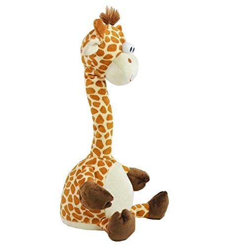 Kögler 76500 - Laber - Giraffe Tanzend, Dies Alles Nachplappert, Plüsch, bunt