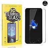 Bear Village® iPhone 6 /iPhone 6s /iPhone 7 /iPhone 8 Displayschutzfolie, Blasenfrei, Anti-Fingerabdruck, Ultra-Dünn HD Schutzfolie aus Gehärtetem Glas für Apple iPhone 6 /6s /7/8, 1 Stück
