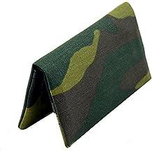 TABAQUERA Plan B Modelo TwoDays Militar- Funda ultra compacta para tabaco de liar, se lleva en un bolsillo, con compartimentos para boquillas, papel y picadura / TDays Militar