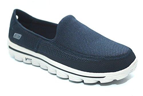 Skechers Go Walk 2, Baskets mode homme Bleu Marine