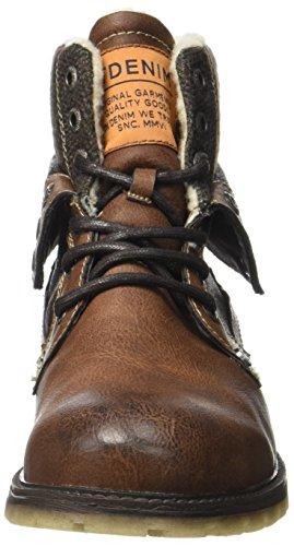 TOM TAILOR Herren 3785905 Klassische Stiefel Braun (Rust)