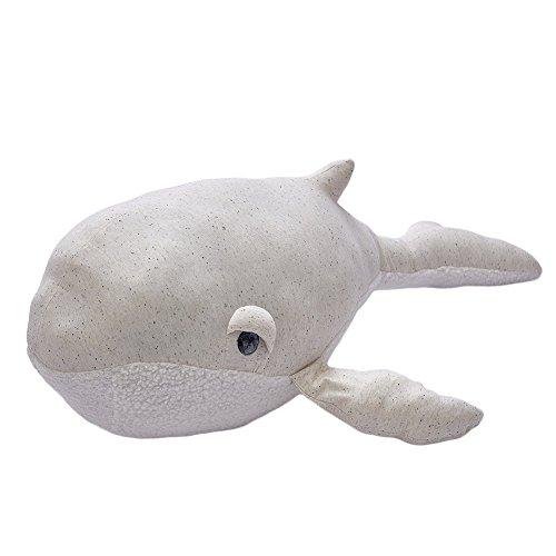 RONG-- Weiche Plüschtier Dichtung Spielzeug Plüsch Kissen Für Kinder, Kreatives Tierspielzeug-Angefüllter Delphin,80 * 30Cm / 31 * 12In (Keil Aufzug)