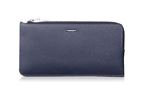 ZXDOP Brieftasche Männer Leder Brieftasche Retro Herren Zipper Lange Dünne Herrenbrieftasche ( farbe : 1# ) 1#