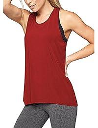 ASHOP Camisa de Yoga con Espalda Cruzada para Mujer Chaleco de Mujer Bra 853268b6ec2f