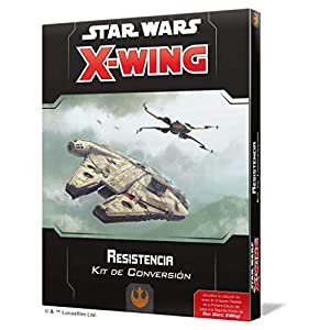 Fantasy Flight Games- Star Wars: X-Wing 2.0 Resistencia - Kit de Conversión - Español, Color