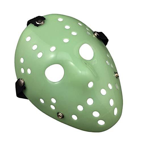 5starservices14 Jason Voorhees Halloweenmaske für Erwachsene, Halloween, Cosplay, Gruselig, Gruseliges Cosplay-Maske ()