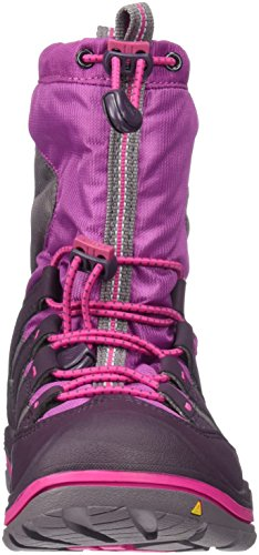 KEEN Winterport II WP Scarpa invernali da bambino PURPLE WINE/VERY BERRY