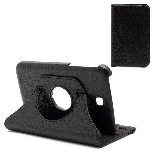 jbTec® Tablet-Hülle / Tasche zu Samsung Galaxy Tab 3 7.0 / SM-T211, WiFi / SM-T210, Kids SM-T2105 - 360° Schwarz - Case, Schutzhülle, Cover