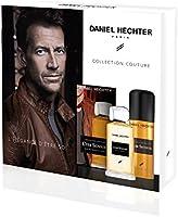 DANIEL HECHTER Coffret Homme Cuir Sensuel Ecrin Prestige Eau de Toilette, Déodorant 250 ml