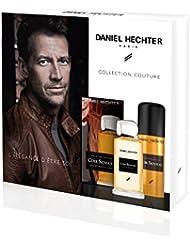 DANIEL HECHTER  Coffret Homme Cuir Sensuel Collection Couture, Eau De Toilette 100 ml + Déodorant 150 ml