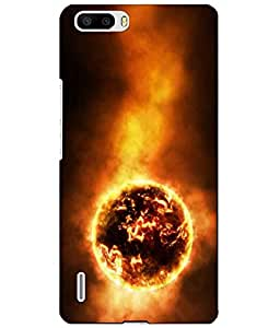 Make My Print Back Cover for Huawei Honor 6 Plus