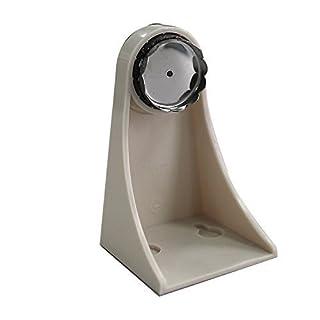 amazing-trading - Ökonomischer magnetischer Seifenhalter - ABS Edelstahl, Grau