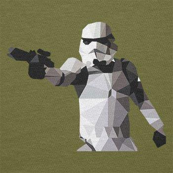 Texlab–Poly Gun Trooper–sacchetto di stoffa Oliva