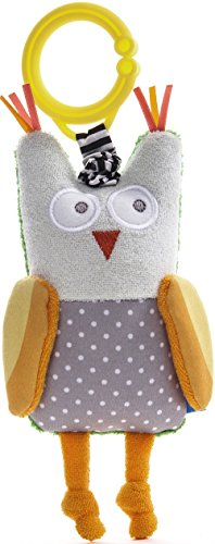 Image of Taf Toys Obi The Owl Jittering Baby Toy