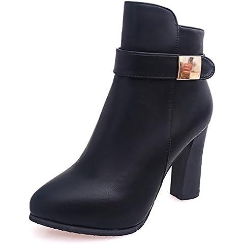 Moda salvaje sexy tacones botas/ agreg¨® felpa cargador caliente de la se?ora/ zapatos de invierno