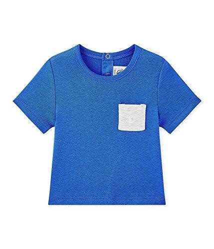 Petit Bateau Petit Bateau Baby-Jungen T-Shirt Tee MC 28806, Blau (Perse 55), 62 (Herstellergröße: 3m/60cm)