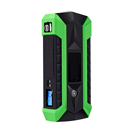 WPFC Auto Mobile Multi-Funktions-Notstart-Power, Tragbare Auto Jump Starter  Pack Multi-Funktions-Power Bank, 4 USB-Anschlüsse,Green