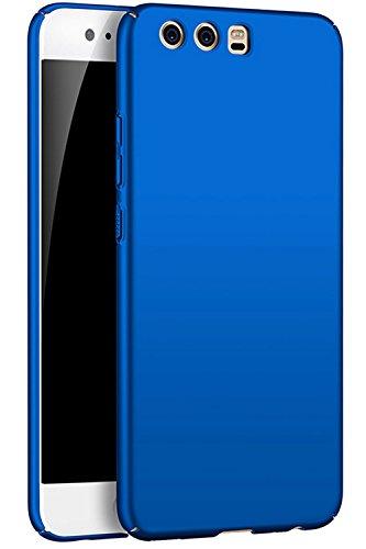 """EIISSION Cover per Huawei P10 (5.1"""") Custodia ToughShell, Cover Robusta Protettiva Slim Anti Scivolo Custodia Protezione Posteriore Cover Antiurto per Huawei P10 (5.1"""") - Blu"""