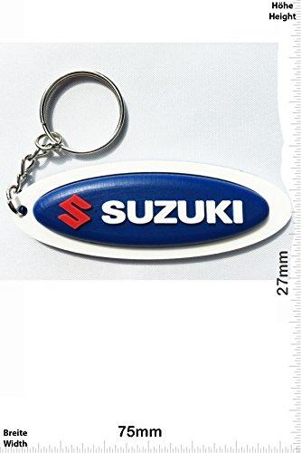 Llaveros   Keychains   Suzuki   blue   Motocross