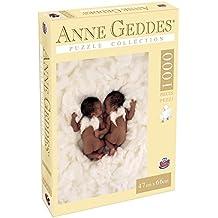 Grandi Giochi GG90108 - Puzzle Anna Geddes 1000 Pezzi, Angels