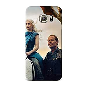 Samsung S6 Case, Samsung S6 Hard Protective SLIM Cover [Shock Resistant Hard Back Cover Case] for Samsung S6 -Game Of Thrones Vanity Fair Cover