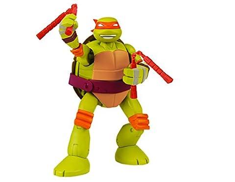 Teenage Mutant Ninja Turtles Mutations Deluxe Figures Pet to Turtles Mike