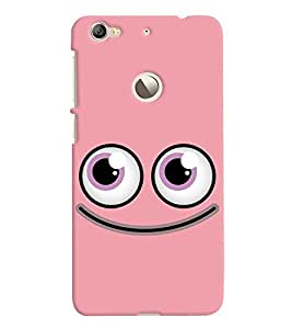 Chiraiyaa Designer Printed Premium Back Cover Case for LeTv Le 1S (smiley) (Multicolor)