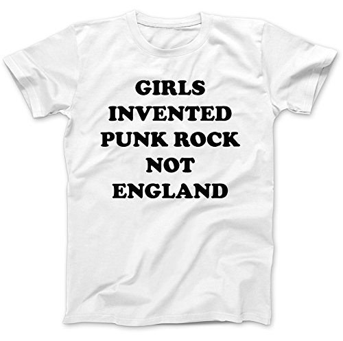 Girls Invented Punk Rock As Worn By T-Shirt 100% Premium Cotton