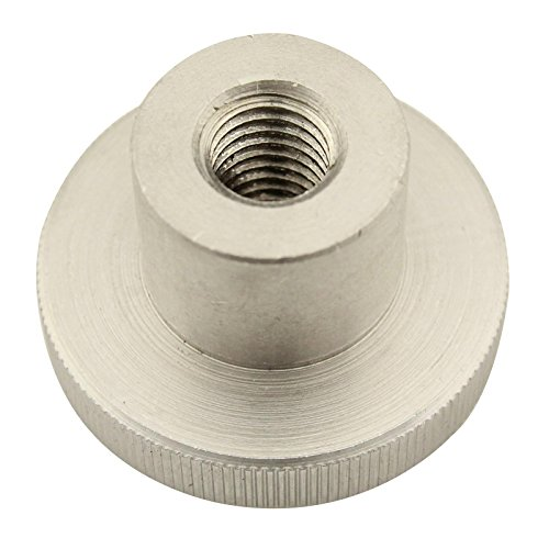 Rändelmuttern ( hohe Form ) - M6 - ( 5 Stück ) - DIN 466 - rostfreier Edelstahl A1 (VA) / NIRO - SC466 | SC-Normteile