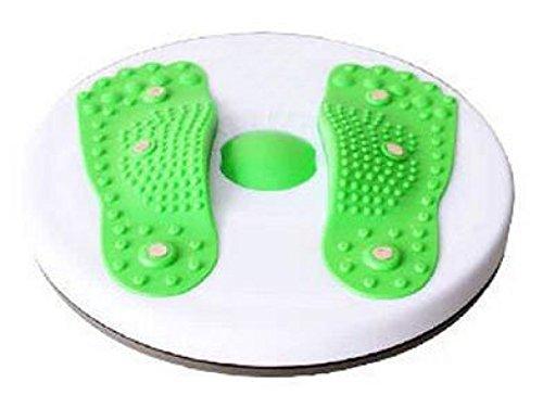 La Sra Artículos Deportivos Aparatos De Ejercicios Masaje Magnético De La Cintura Delgada Placa Twister Casa Es Un Ejercicio Para Bajar De Peso,Green