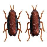 ILPjswu Elektronisches Spielzeug für Haustiere, Trick-Playing Bugs Simulation GruselInsekten-Gadget Trick Kinder Pet Roboter emulieren Käfer Schaben Insekten Neuheit Spaß