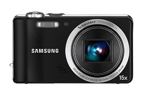 Samsung WB600 Digitalkamera (12 Megapixel, 15-fach opt. Zoom, 7,62 cm (3 Zoll) TFT, Bildstabilisierung, Weitwinkel) schwarz
