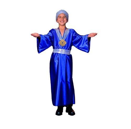 Kostüm Kind Wiseman - RG Kost-me 90182-L Wiseman Kost-m - Blau - Gr--e Kind Gro-e 12-14