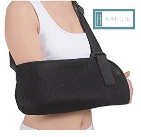armtote Airflow atmungsaktiv Armschlinge. Weiches Verstellbare Stütze mit Hüftgurt. Atmungsaktiv Mesh, leicht Stoff. Verstellbar Sling wird bewegungsunfähig und stablize die Verletzte Arm.
