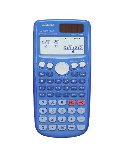 Casio FX-85 GT Plus BLAU + deutsche Taschenrechner.de - Praxisanleitung