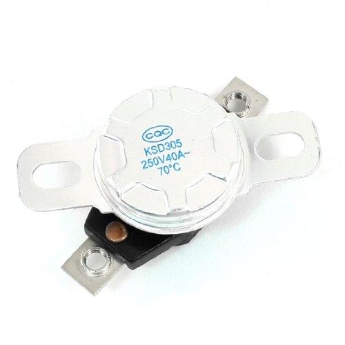 SOURCING MAP sourcingmap® N/C KSD305 70C Grado de plástico de control de...