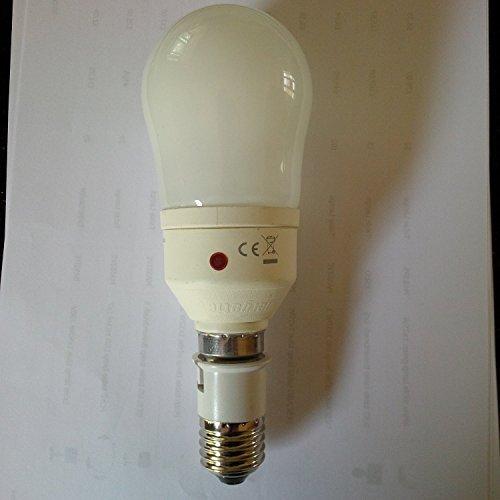 Sensore Lampadina 20w=100w ES/E27 Dal Crepuscolo All'alba Lampadina A Risparmio Energetico Bianco Caldo/827/2700k Avvio Rapido 1150 Lumens 10,000 Ore
