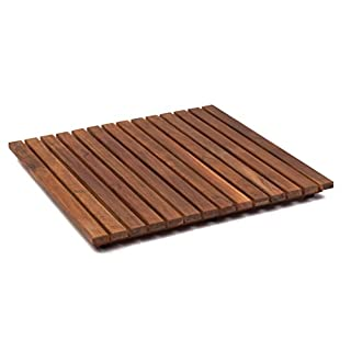 AsinoX TEK4A5050 - Bath and Shower Platform, Teak Wood