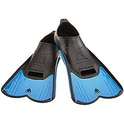 Cressi Light - Aletas de natación, color azul, talla 41-42