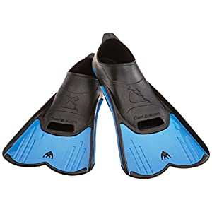 Cressi Kids Light Swimming Fins - Blue/Black, 12.5/13.5 UK (31/32 EU)