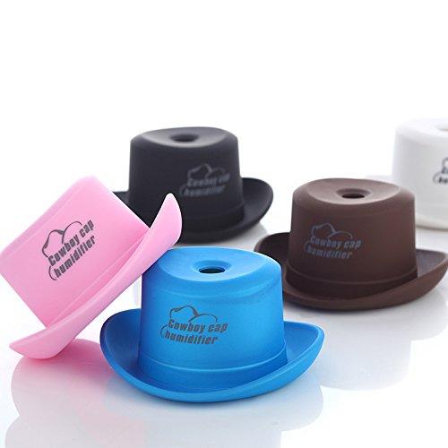 ZTYR USB-Mini-Cowboy-Hut Mütze Familienauto kleines Büro Schreibtisch Zerstäubung Luftbefeuchter , pink (Cowboys Schreibtisch)